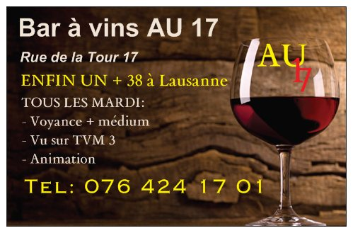 Bar à vins AU 17