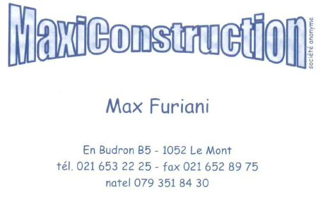 MaxiConstruction - Max Furiani