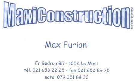 MaxiConstruction - Max Furiani