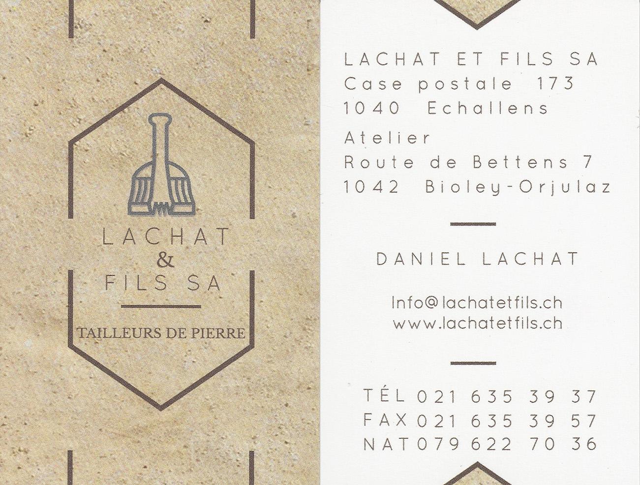 Lachat & Fils SA